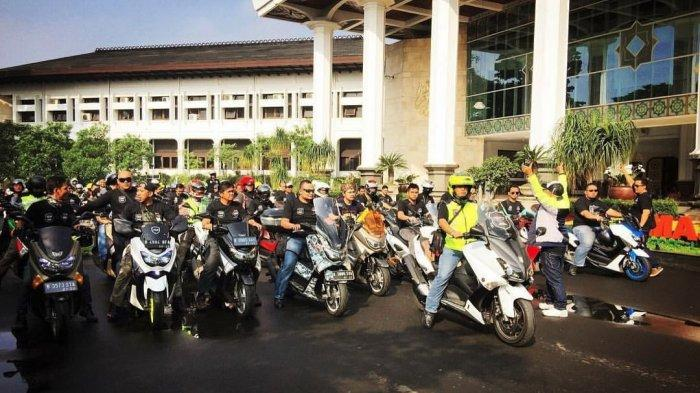 Kisah Budaya Portal yang Jadi Simbol Solidaritas Bikers MAXi Yamaha