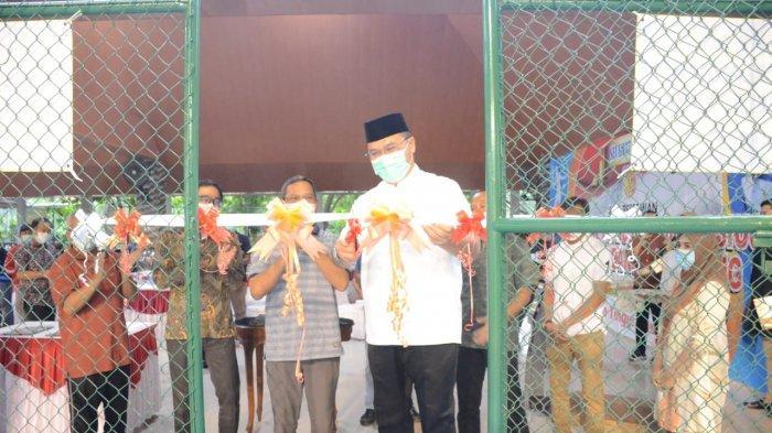 Polda Bangka Belitung Miliki Lapangan Tenis, Diberi Nama Binatang Khas Bangka Tarsius