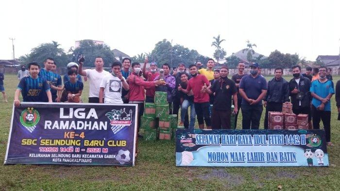 Liga Ramadhan Ke 4 SBC Selindung Baru, Berolahraga Sambil Beramal