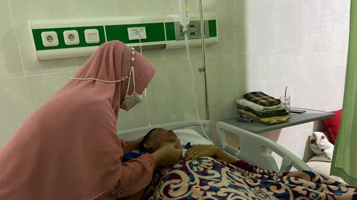 Pasca Ditabrak dan Operasi, Kondisi Jamro, Suami Wabup Bangka Selatan Perlahan Membaik