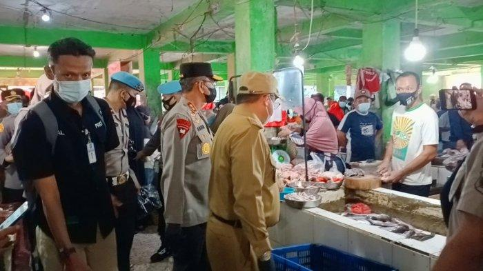Kapolda dan Gubernur Bangka Belitung Sidak ke Pasar Pagi, Pembeli Keluhkan Harga Daging Sapi Mahal