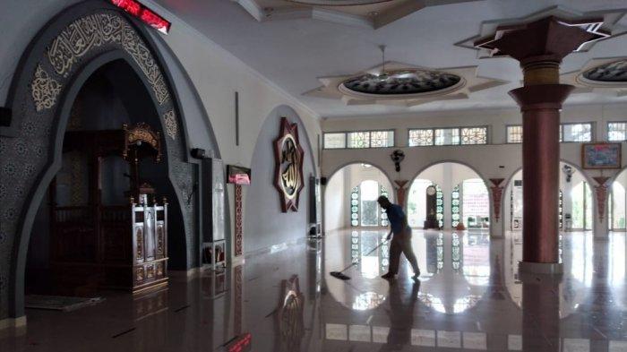 Bupati dan Wabup Bangka Salat Ied, Begini Persiapan Badan Pengelola Masjid Agung Sungailiat
