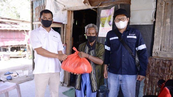 PT Timah Bagikan 7.600 Paket Sembako Jelang Hari Raya Idul Fitri