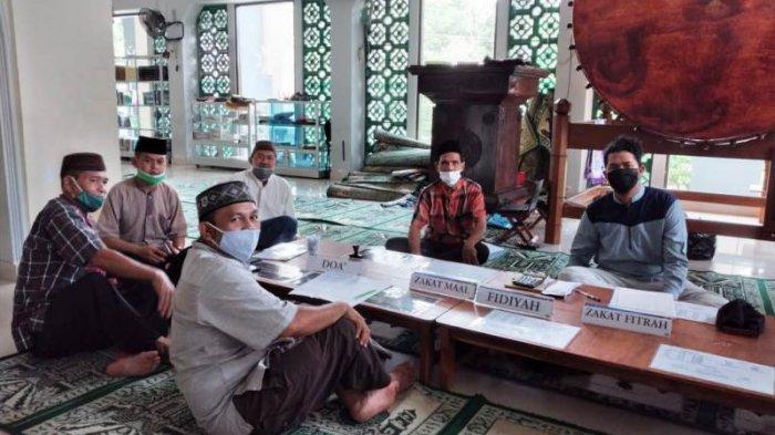 Panitia Amil Zakat Masjid Agung Kumpulkan 910 Kg Beras dan Uang Rp140.334.500