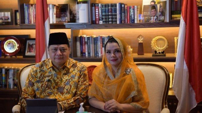 Halalbihalal Idul Fitri 2021 Kemenko Perekonomian, Airlangga: Saling Memaafkan Agar Kembali Suci