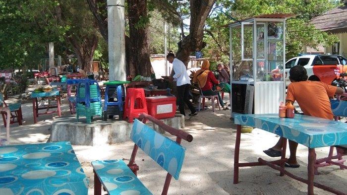 Pantai Pasir Padi Ditutup Sementara, Pedagang Kecewa Tak Ada Pemberitahuan, Sudah Stok Banyak