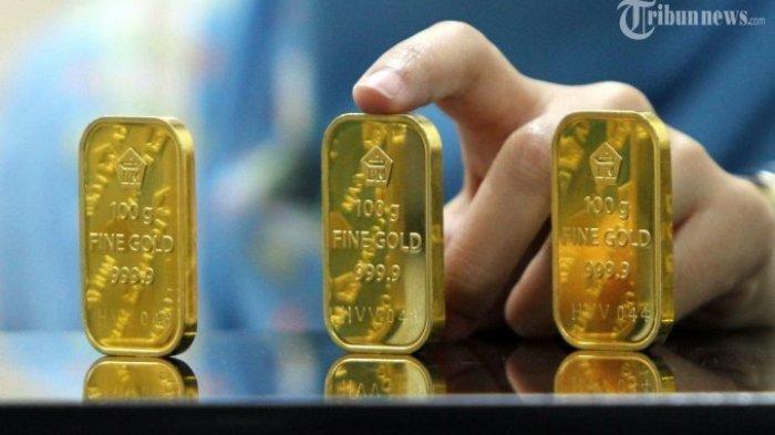 Harga Emas Hari Ini Minggu 16 Mei 2021, Simak Rincian Harga Emas Antam Pecahan Lainnya