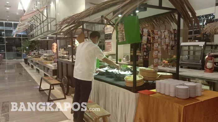 Rendang Runtiah dan Gulai Iga Kembang'Ang Makanan Khas Disajikan Novotel Bangka untuk Pengunjung