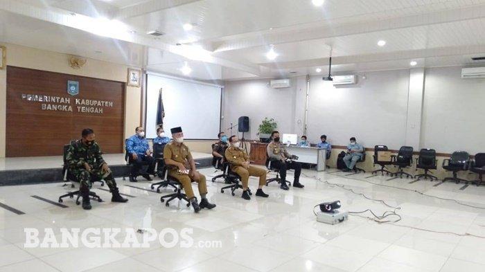 Bupati Bangka Tengah Siap Ikuti Arahan Presiden Jokowi, Tekankan Masyarakat Untuk Taat Prokes