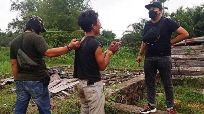 Pencuri Motor Panitia Zakat di Kampung Keramat Tantang Anggota Tim Naga Duel Saat Disergap