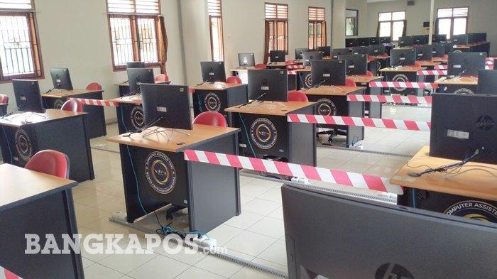 Simulasi Tes CPNS 2021 Bakal dibuka, UPT BKN Pangkalpinang Siapkan 55 Komputer untuk Calon Peserta