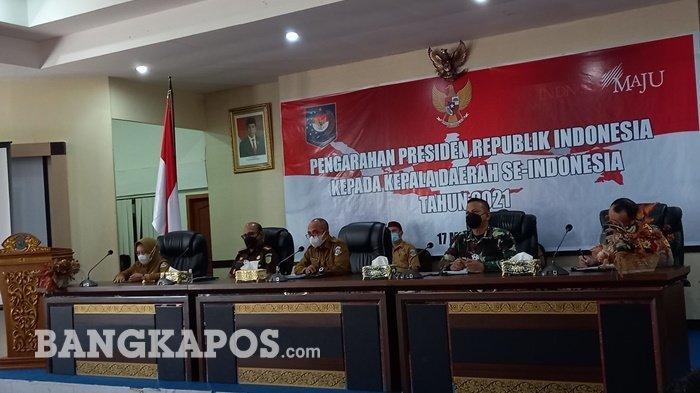 Jokowi Minta Kepala Daerah Waspada Covid-19, Wali Kota Tegaskan Siap Jaga Kota Pangkalpinang