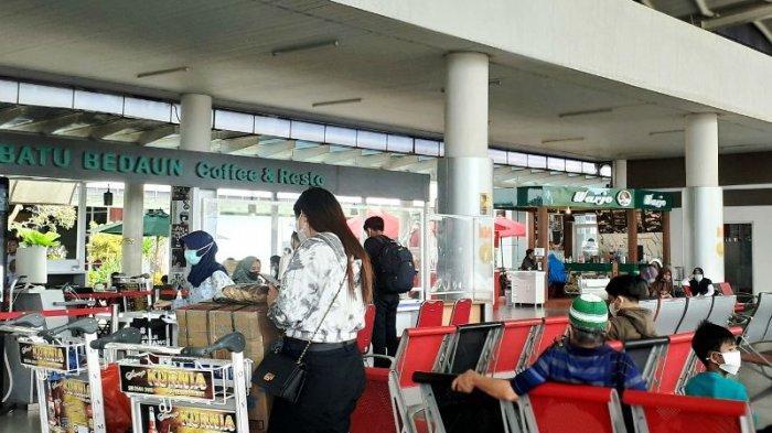 Sudah 3.517 Penumpang Lewat Bandara Depati Amir Usai Larangan Mudik, 48 Orang Dirapid Ulang