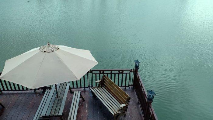 Kawasan wisata Telaga Emas Bersinar, Sinar Baru, Sungailiat, Kabupaten Bangka