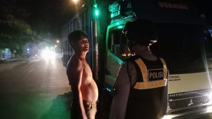Dit Samapta Polda Bangka Belitung Amankan Truk Bermuatan 329 Kampil Diduga Pasir Timah Ilegal