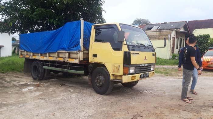 Polres Pangkalpinang Lepas Truk Angkut 3 Ton Pasir Timah, Kasat Reskrim: Dokumen Lengkap