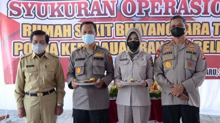 Kapolda Kepulauan Bangka Belitung, Irjen Pol Anang Syarif Hidayat saat disela peresmian Rumah Sakit (RS) Bhayangkara TK. IV.