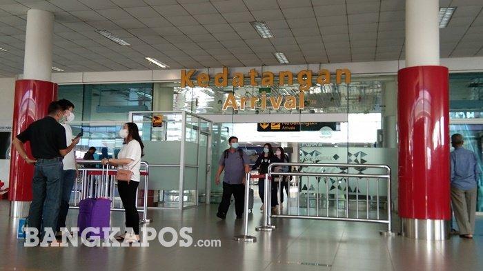 Penumpang di Bandara Depati Amir Kaget, Sudah Kantongi GeNose Harus Rapid Tes Ulang