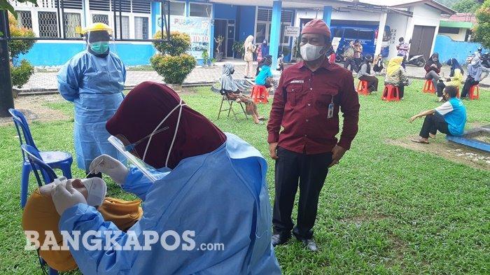 BREAKING NEWS, Pegawai KBPP Bangka Positif Covid 19, Digelar Swab Massal