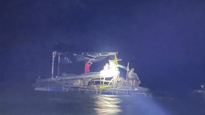 Polres Bangka Selatan Kembali Amankan Tiga Unit TI Selam dan Satu PIP di Laut Sukadamai