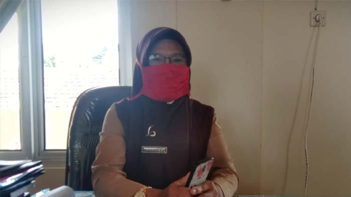 Kepala SMP N 2 Pangkalpinang, Marlina.