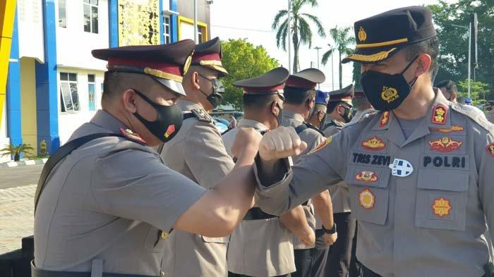 Lima Perwira Polres Pangkalpinang Bergeser, Kompol Johan Wahyudi Duduki Wakapolres Bangka Barat - 20210531_sertijab-polres-pangkalpinang-01.jpg