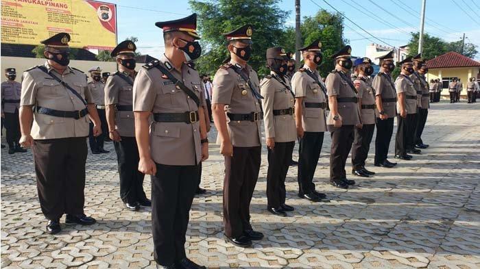 Lima Perwira Polres Pangkalpinang Bergeser, Kompol Johan Wahyudi Duduki Wakapolres Bangka Barat - 20210531_sertijab-polres-pangkalpinang-02.jpg