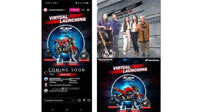 Tunas Honda Gelar Virtual Launching All New CB150R StreetFire