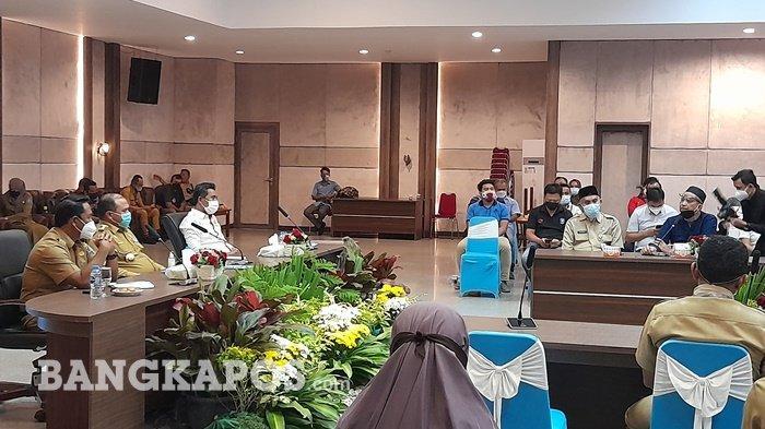 Gubernur Marahi Pengurus KONI Bangka Belitung, Erzaldi: Tidak Mau Bekerja Mundur daripada Malu!