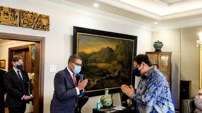Airlangga Hartarto Senang Inggris Akui Indonesia Komit Terapkan Pertanian Berkelanjutan