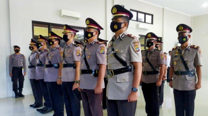 Sertijab Polres Bangka Barat, Wakapolres Hingga Kabag Ops Dijabat Pejabat Baru