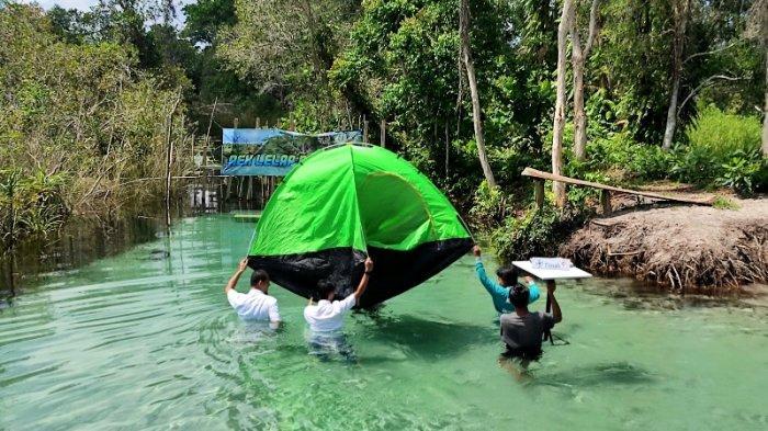 Wisata Belinyu: Aek Bedelew, Wisata Alternatif Selain Pantai di Bangka Belitung