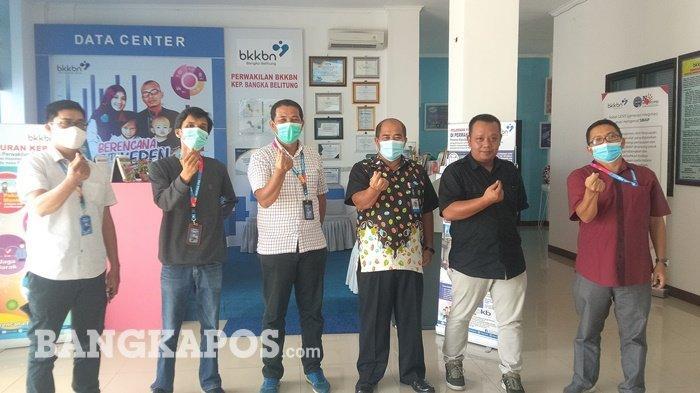Jalin Sinergitas dan Silaturahm, Bangka Pos Lakukan Audensi dengan BKKBN Provinsi Bangka Belitung