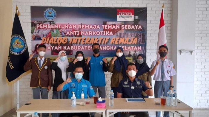 Cegah Penyalahgunaan Narkotika, BNNK Bangka Selatan Bentuk Remaja Teman Sebaya Anti Narkotika