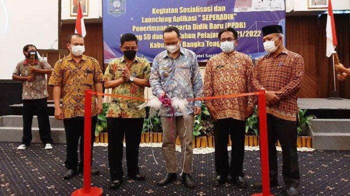 Permudah Penerimaan Siswa Baru, Dindik dan Diskomifosta Bangka Tengah Launching 'Seperadik'