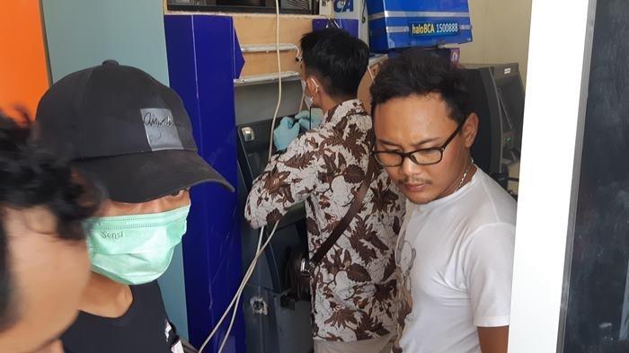 Gunakan Alat Blender, Satu Jam Pembobol ATM Sikat Rp 400 juta, Polisi Sebut Penjahat Profesional
