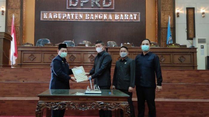 Rapat Paripurna LKPJ 2020, DPRD Kabupaten Bangka Barat Sampaikan 16 Rekomendasi
