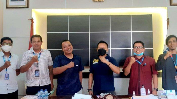 Herman Suhadi Sambut Hangat Kunjungan Bangka Pos Group, Ajak Bersama Bangun Babel Sesuai Tupoksi