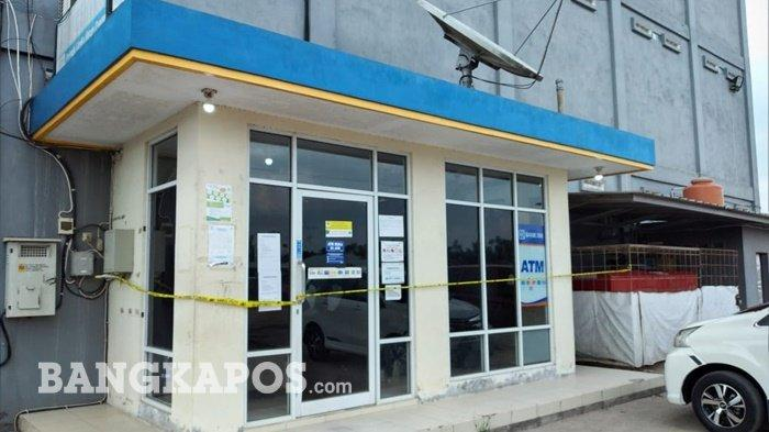 Meski Uang di ATM Center Megamart Tidak Berhasil Dicuri, Bank Sumsel Babel Alami Kerugian Ini