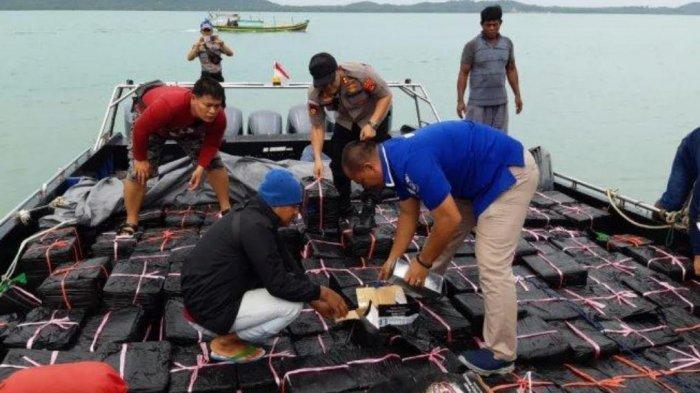 Siang Ini Kapolda Babel Rilis Tangkapan Kapal Hantu yang Ditangkap dari Hutan Bakau Tanjung Jati OKI