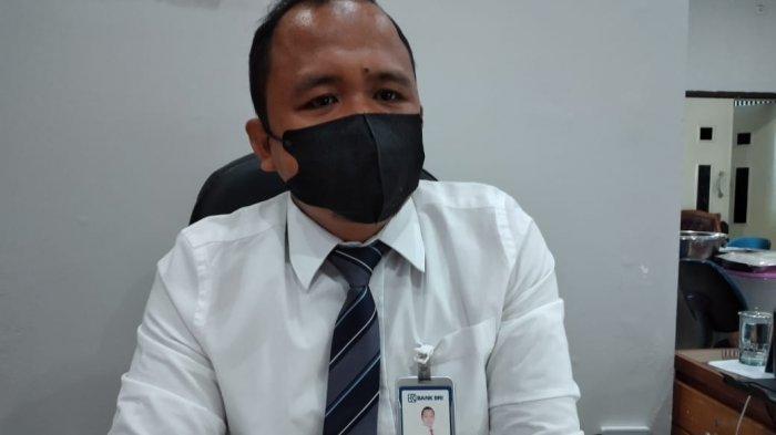 Asisten Manager Operasional BRI Cabang, M Nur Yamin.