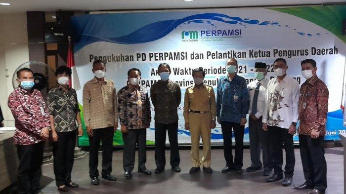 Najamuddin Jabat Ketua Pengurus Daerah Persatuan Air Minum Seluruh Indonesia Bangka Belitung