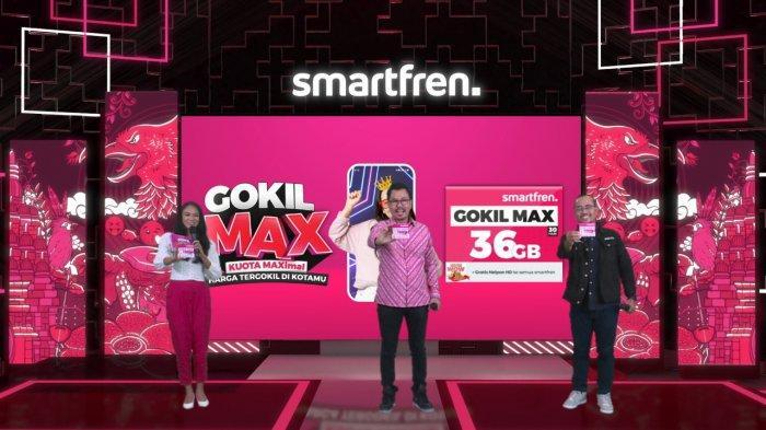 Peluncuran Smartfren GOKIL MAX Terbaru, Nikmati Kuota Data Terbesar dan Harga Paling Gokil