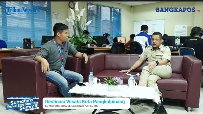 Diskusi Destinasi Pariwisata di Kota Pangkalpinang, Agung Ingin Fokus Terang Benderangkan Pasir Padi