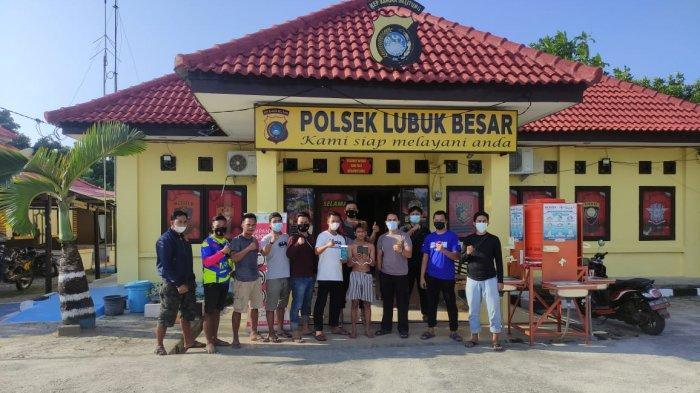 Tim Tupai Polres Bangka Tengah Berhasil Ringkus Ubek Pelaku Pencuri HP di Desa Lubuk Besar