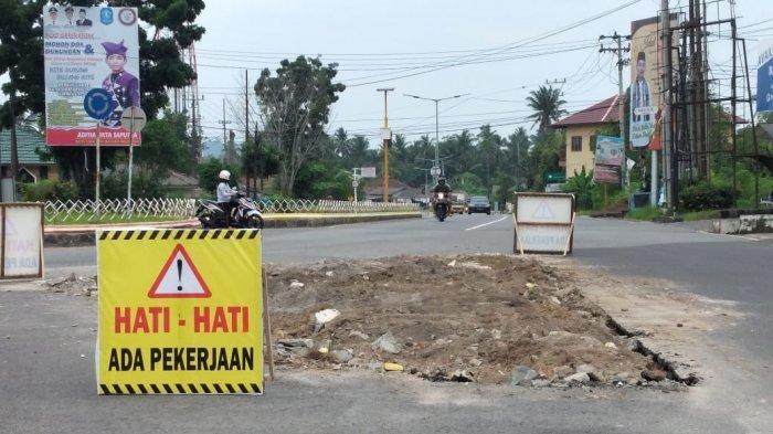 Pemkab Bangka Bangun Tugu Dulang yang Eksotik dan Ikonik di Persimpangan Gedung Juang