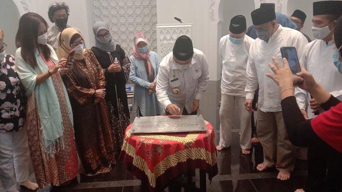 Masjid Jami Soeprapto-Soeparno Diresmikan, Begini Kata Presiden Direktur JNE dan Gubernur Babel