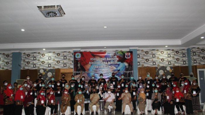 40 Perawat RSUD Depati Bahrin Dilatih Atasi Trauma Pasien Pasca Kecelakaan atau Sakit
