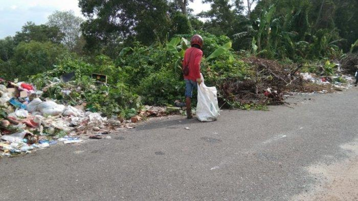 Sampah Menggunung di Samping BLKI Sudah Sejak 2018, DLH Babel: Bukan Kewenangan Kami