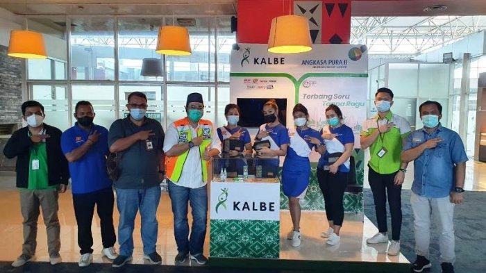 Kalbe dan Angkasa Pura ll Tawarkan 3 Paket Terbang Seru Tanpa Ragu di Booth Bandara Depati Amir